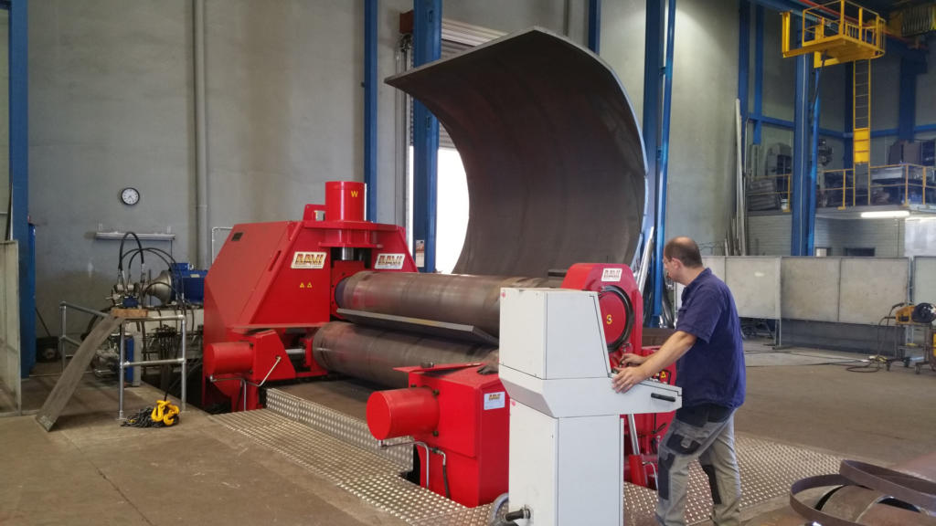50mm Carbon Steel Plate Rolling 01