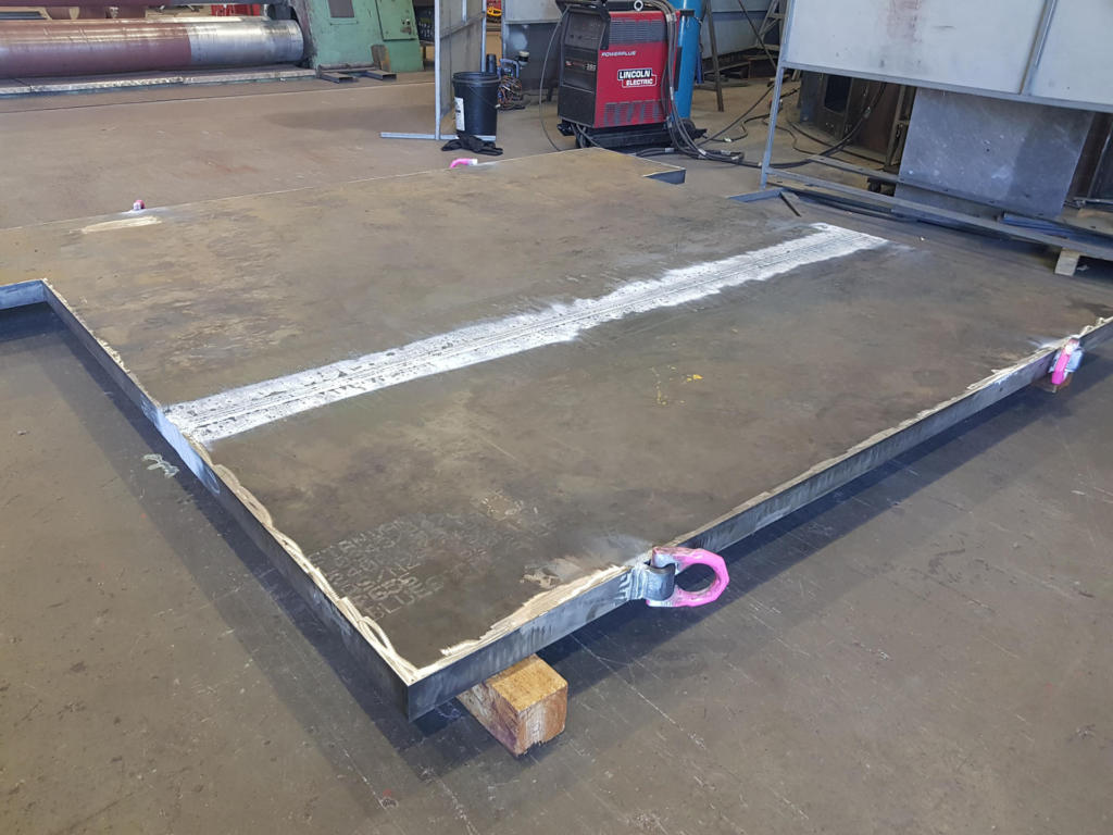 70mm Thick Plate SAW