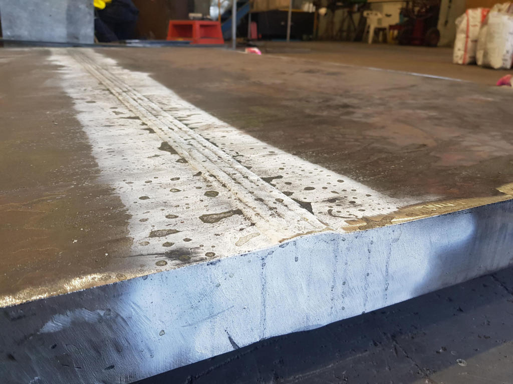 70mm Thick Plate SAW (2)
