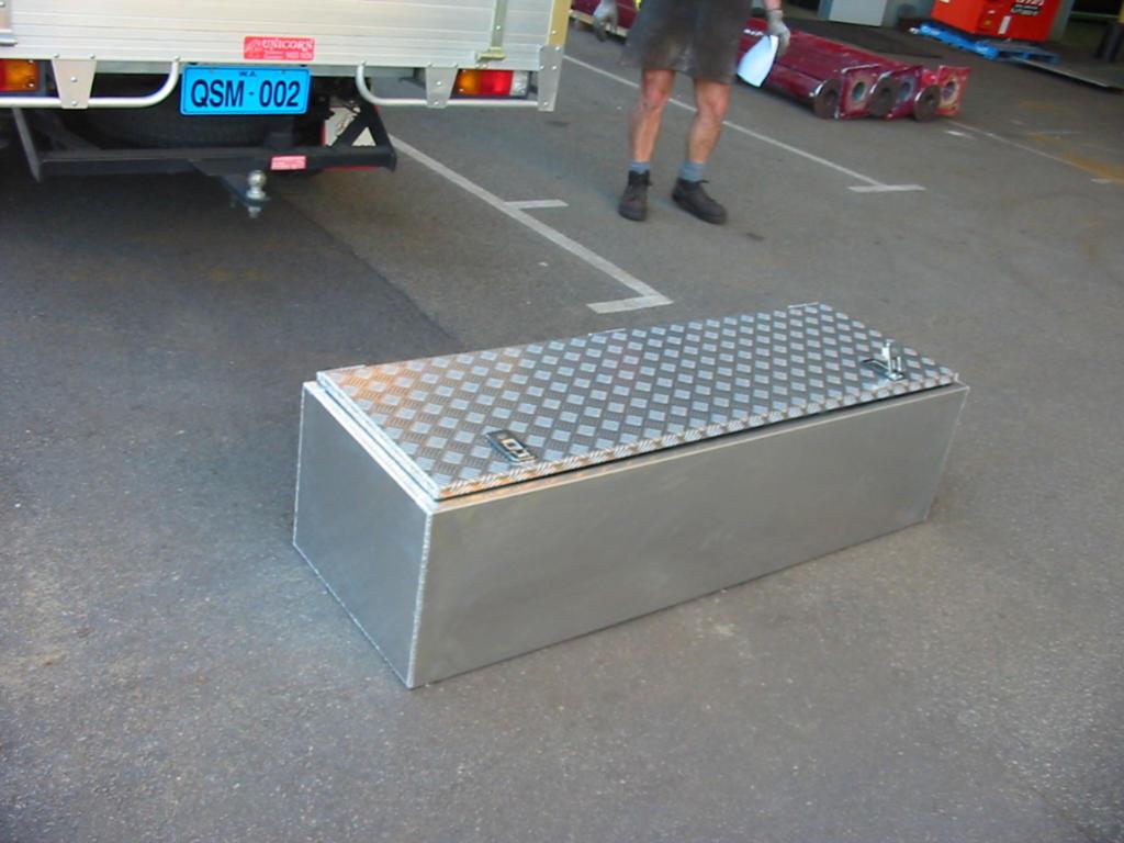 Aluminium Rectangular Toolbox