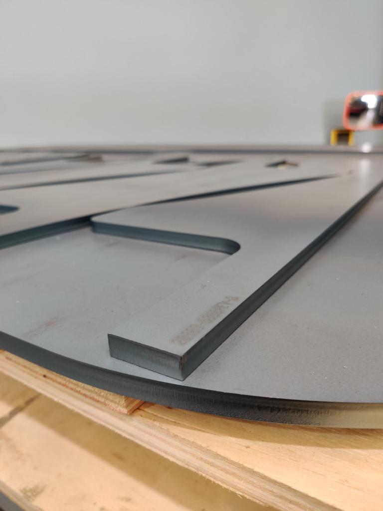 Clean Cut Edge 12mm Mild Steel
