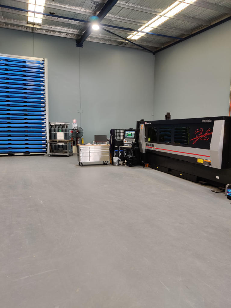 Lasercut Machine and racks