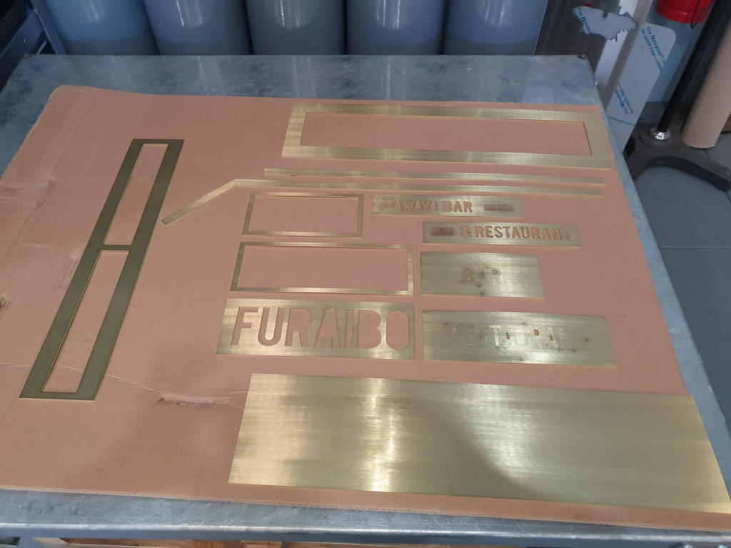 Lasercutting 1.6mm Brass