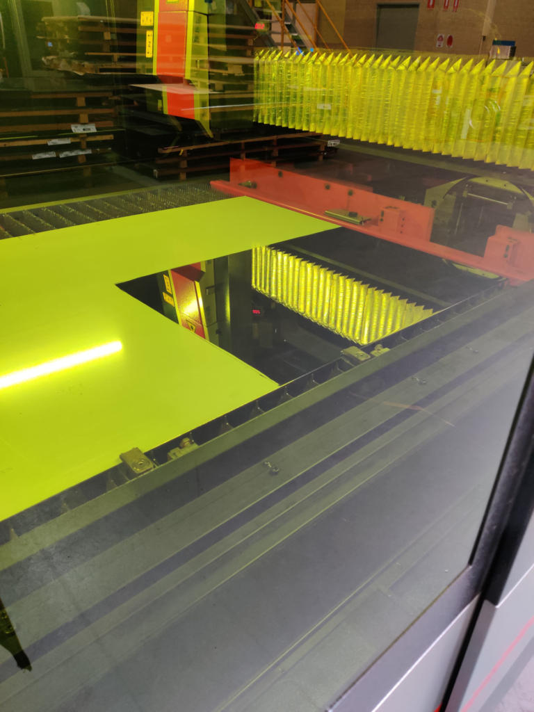 Lasercutting Mirror Finish Sheet