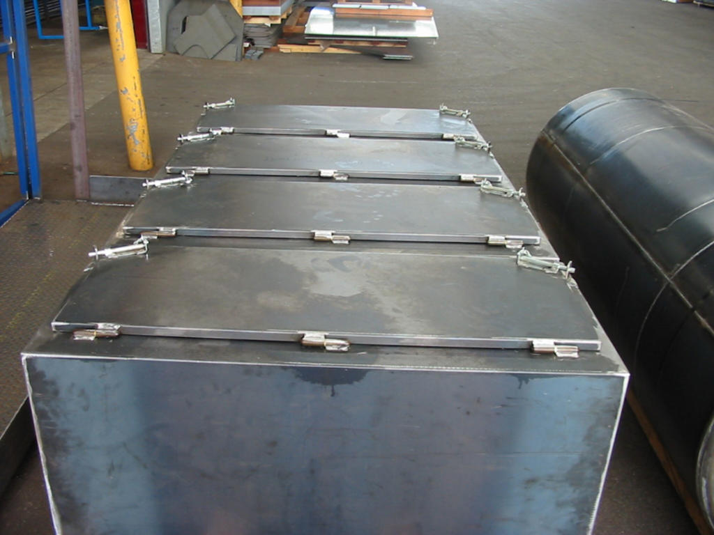 Mild Steel Semi Trailer Toolbox