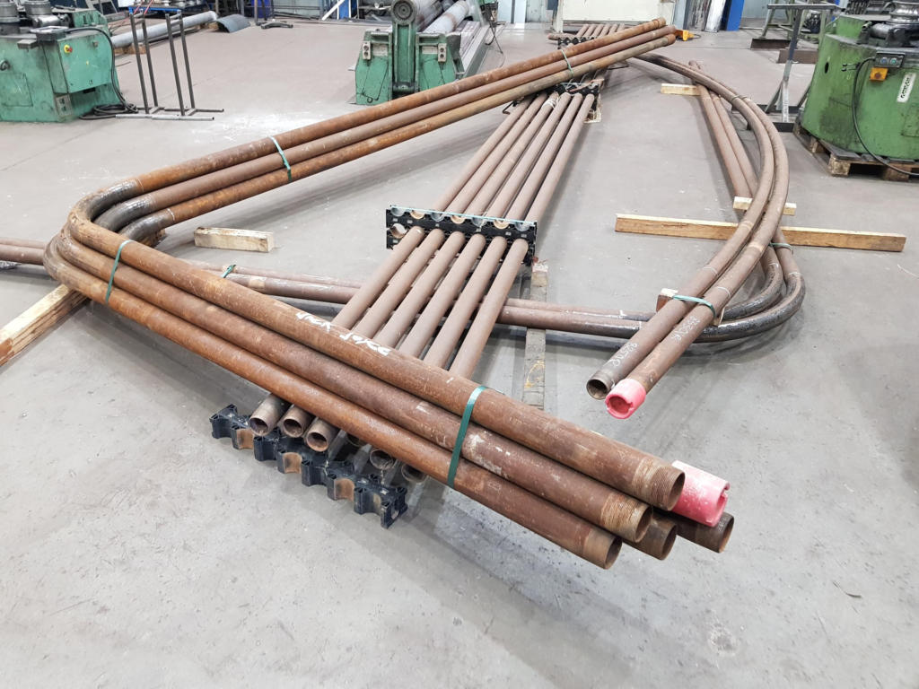 Section Rolling Pipes