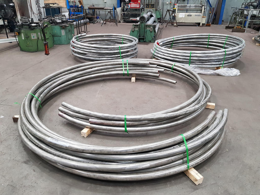 Section Rolling Stainless Steel Pipes