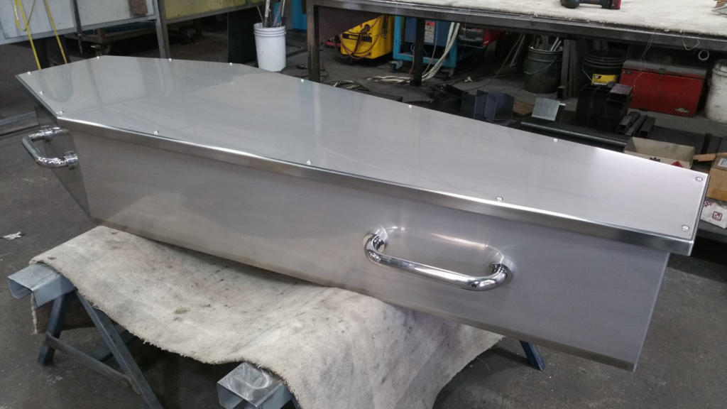 Stainless Steel Coffin