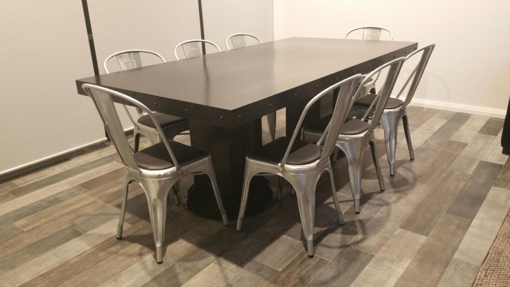 Vintage Industrial Dining Table 01